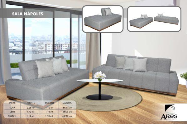 [object object] Sofa Cama Napoles  $ 13,990 sala napoles con datos 600x400